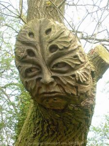 Green man  - by Grinagog